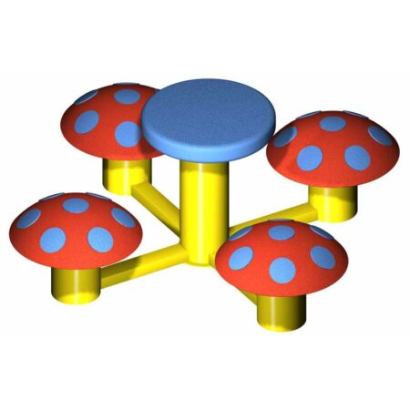 4 Mushroom Seat with Table product image 2