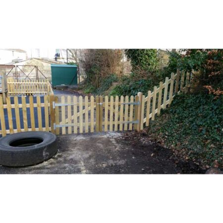 Round Top Palisade Fencing & Gates product image 1