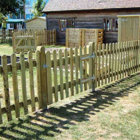 Round Top Palisade Fencing & Gates product image 3