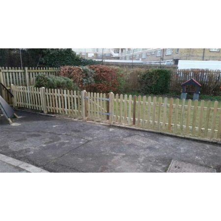 Round Top Palisade Fencing & Gates product image 4