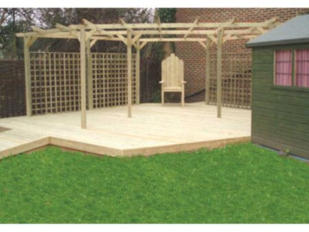 Stage/Deck - Pergola Roof. product image 1
