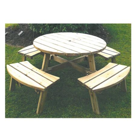 Round Picnic Bench product image 1