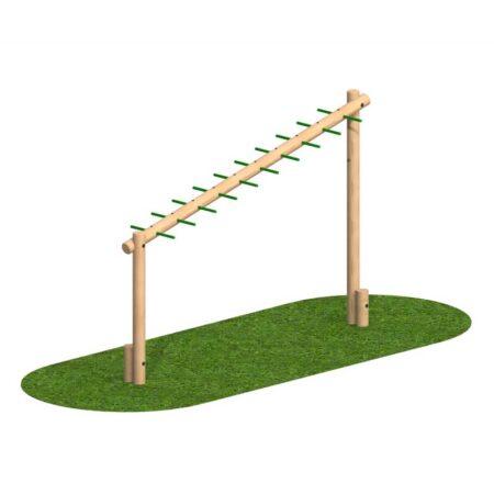 Sloping Monkey Bar Log product image 1