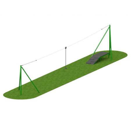 STEEL AERIAL RUNWAY 20M ONE WAY product image 1