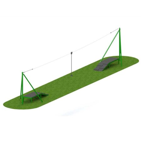 STEEL AERIAL RUNWAY 20M TWO WAY product image 1