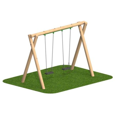 2.4M  2 FLAT SEAT SWINGS product image 1