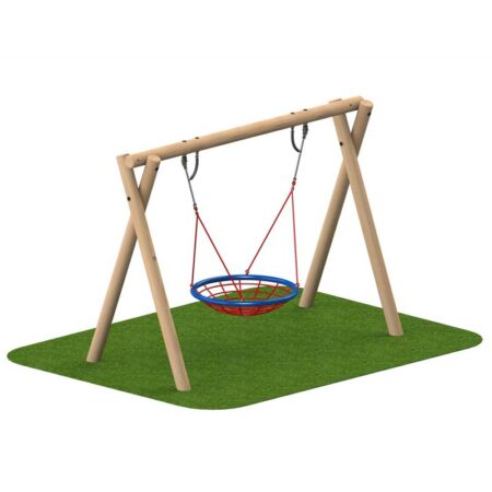 TIMBER GROUP/NEST SWING 2.4M product image 1