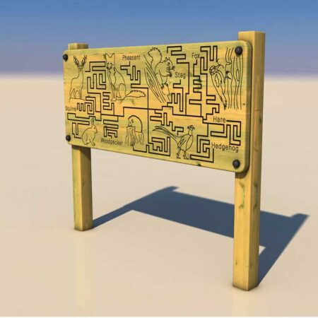 Wildlife Finger Maze product image 1