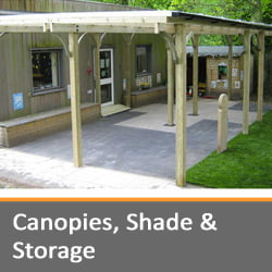 Canopies, Shades, and Storage