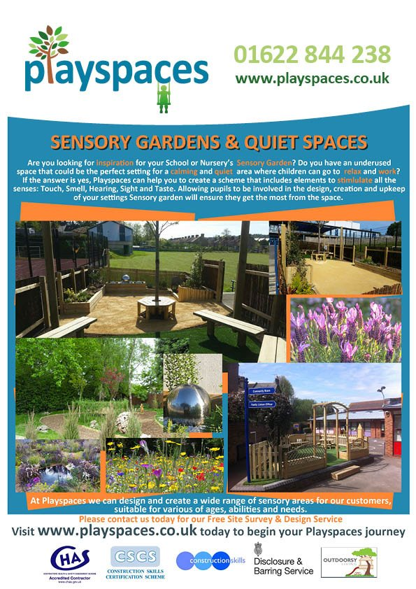 Sensory Gardens & Quiet Spaces