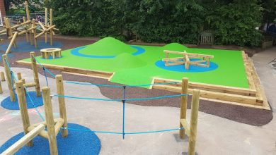 Outdoor Play Space for Sussex Road Primary School