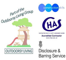 Playspaces to Outdoorsy Living logo image