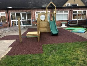 A New Play Area for The Academy of Woodlands