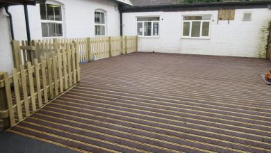 Brand New Decking for Oasis Academy