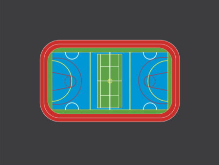 Sports Playground Markings