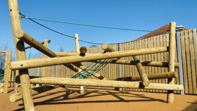 A New Play Area For Benenden Primary